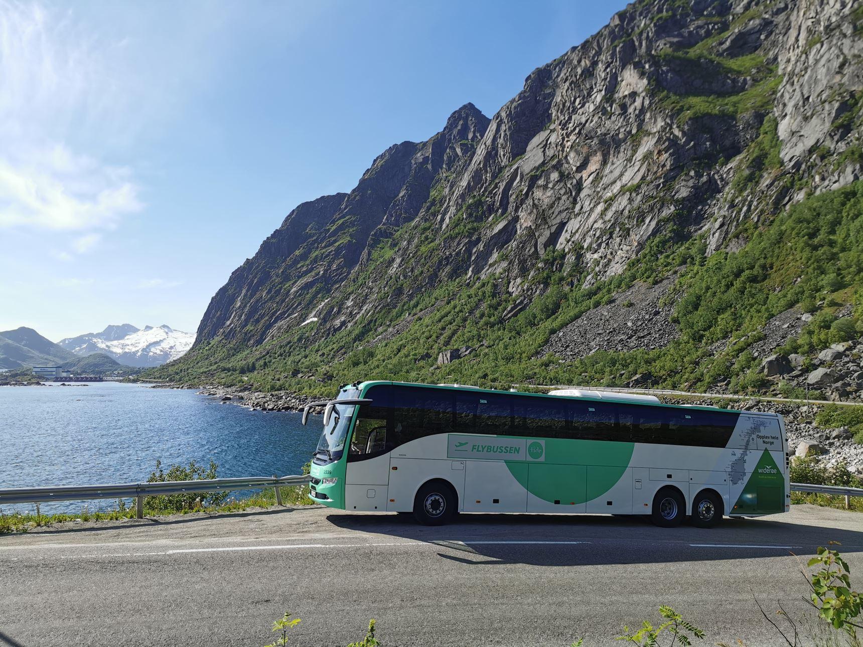 Flybuss Evenes Svolvær